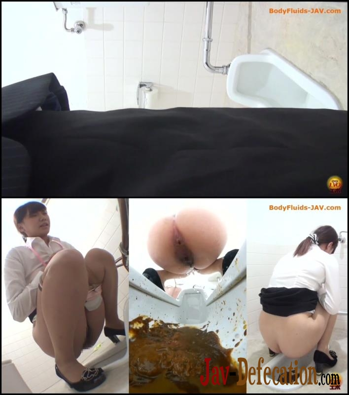 BFEE-25 Sexy lady pooping in public toilet (2018 | FullHD)