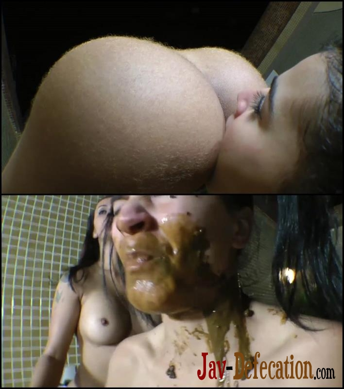 [Special #96] Mistress shitting in mouth slavegirl and pushed shit foot (2018 | FullHD)
