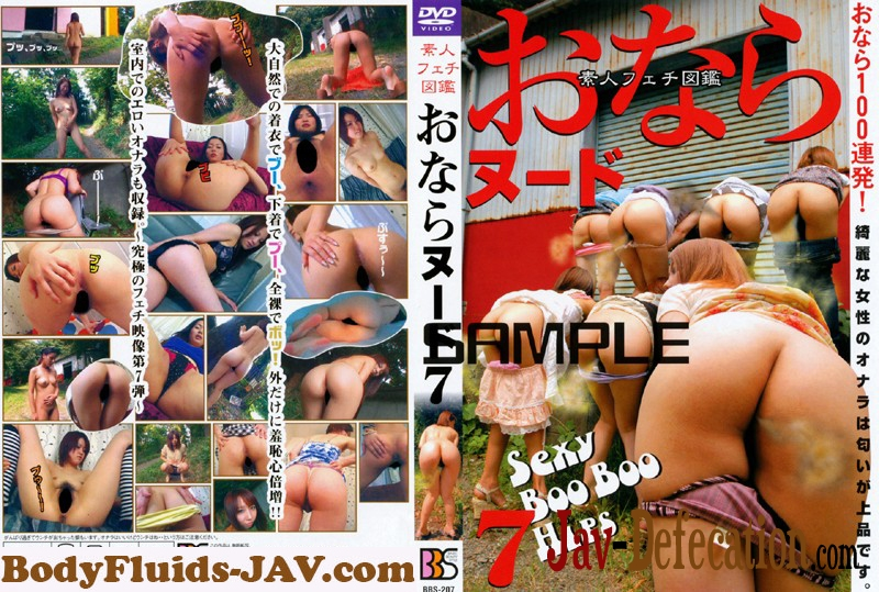 BBS-207 素人フェチ図鑑 おならヌード Fart Fetish Amateur Nude Picture Book (2019 | SD)